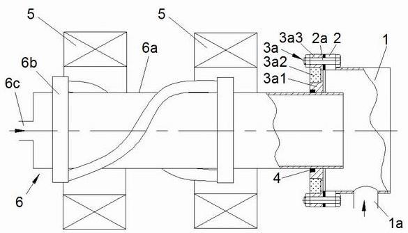 一种用于更换直线等离子体源的装置的制作方法