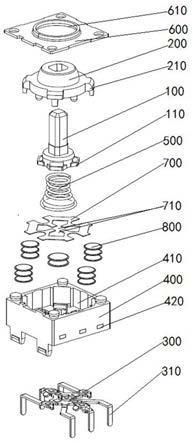 一种多向开关装置的制作方法