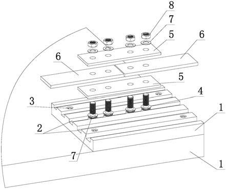 抗滑移系数试验工件工装的制作方法