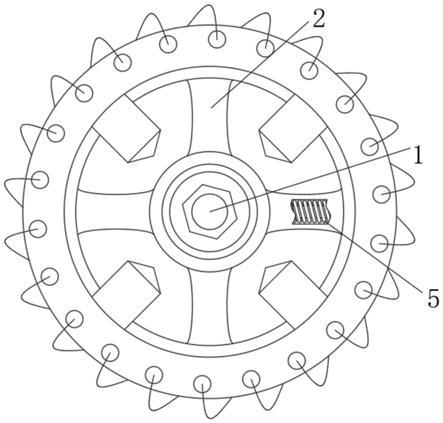 一种适用于电子商务的便携式机箱减震轮的制作方法