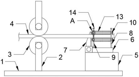 一种用于聚酯薄膜横拉装置的压边剪辊机构的制作方法