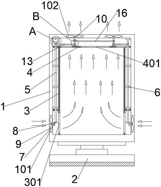 一种便于散热的音箱的制作方法