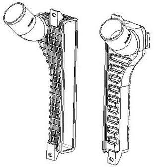 一种中冷器气室的制作方法