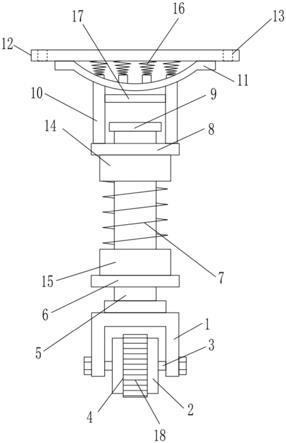 一种用于机场托运车的滚轮结构的制作方法