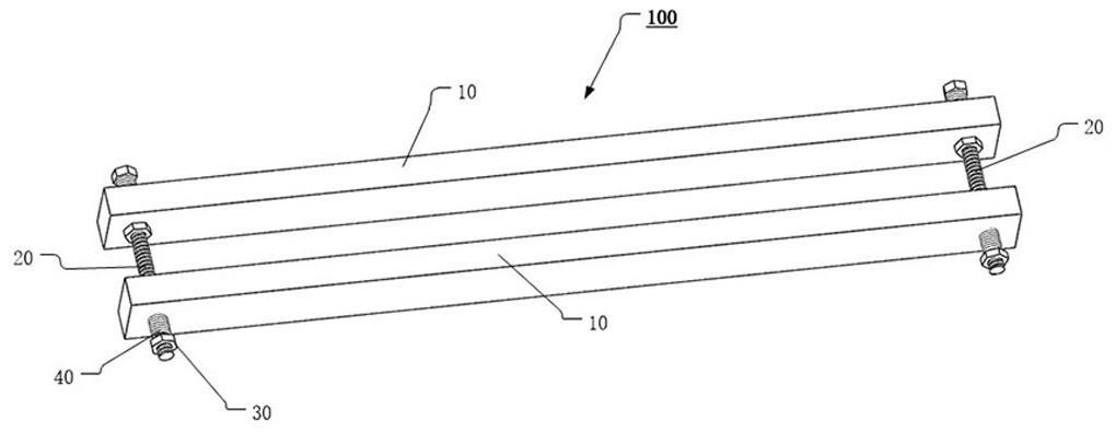 一种防护栅栏辅助安装组件的制作方法