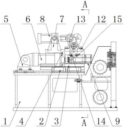 一种三线拉拔机推头装置的制作方法