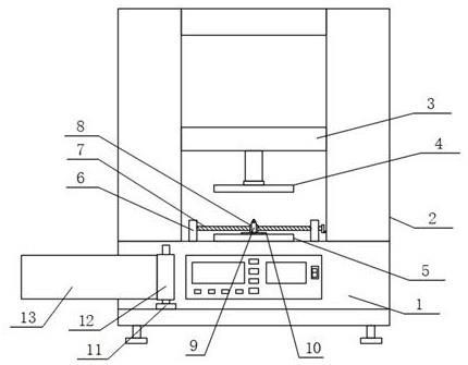 一种连接器抗压强度专用检测设备的制作方法