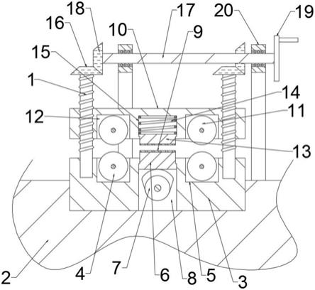 一种锯条磨齿机用锯条夹紧机构的制作方法