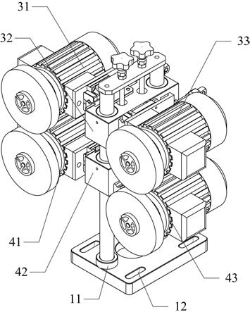 一种立柱支承式双抛光机构的制作方法