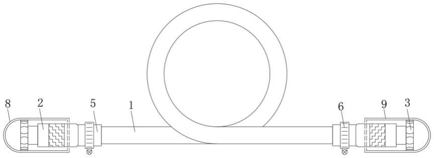 一种耐阻尼橡胶管总成的制作方法