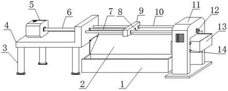 一种黄铜棒生产用液压拉光装置的制作方法