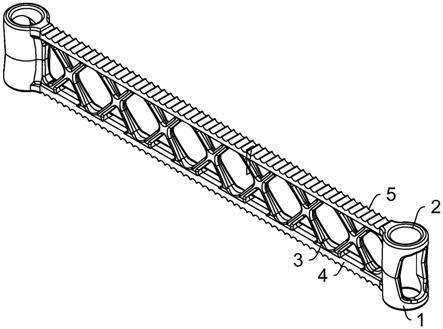 一种轻质热处理横梁及夹具的制作方法