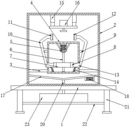一种船用发动机转速传感器磁性零件生产设备的制作方法