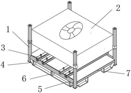 一种用于飞轮壳可调整转序的料架的制作方法