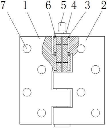 一种具有防锈功能的静音平面铰链的制作方法