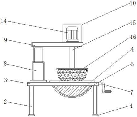 一种茶叶加工东西备均匀翻炒功效的炒茶机的创造办法