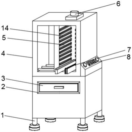 一种用于电子元器件贴片的上板机的制作方法
