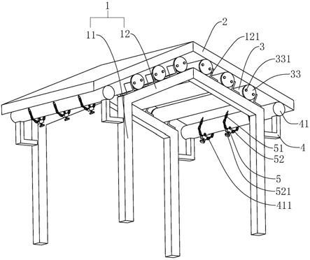 一種適用于仿古建筑的屋面結構的制作方法
