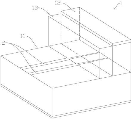 一种用于阶梯印制电路板的传输线结构的制作方法