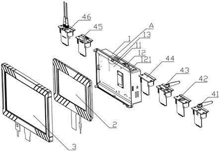 一种无线温度接收终端的制作方法